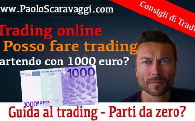 Guida al trading | Fare Trading con 1000€
