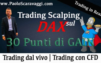 Scalping sul Dax | 30 punti di gain